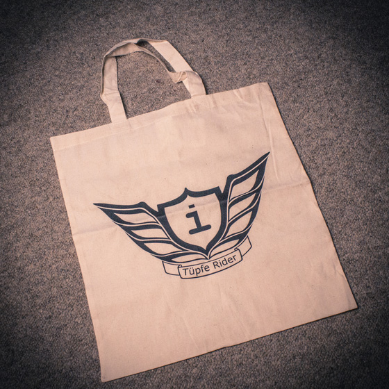 Tasche Logo<br><small>Natur - One-Size<br>8 €</small>